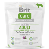 Brit Care Grain-free Adult Large Breed Salmon & Potato 1 kg