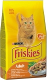 Purina Friskies cat Adult Drůbež + Zelenina 10 kg