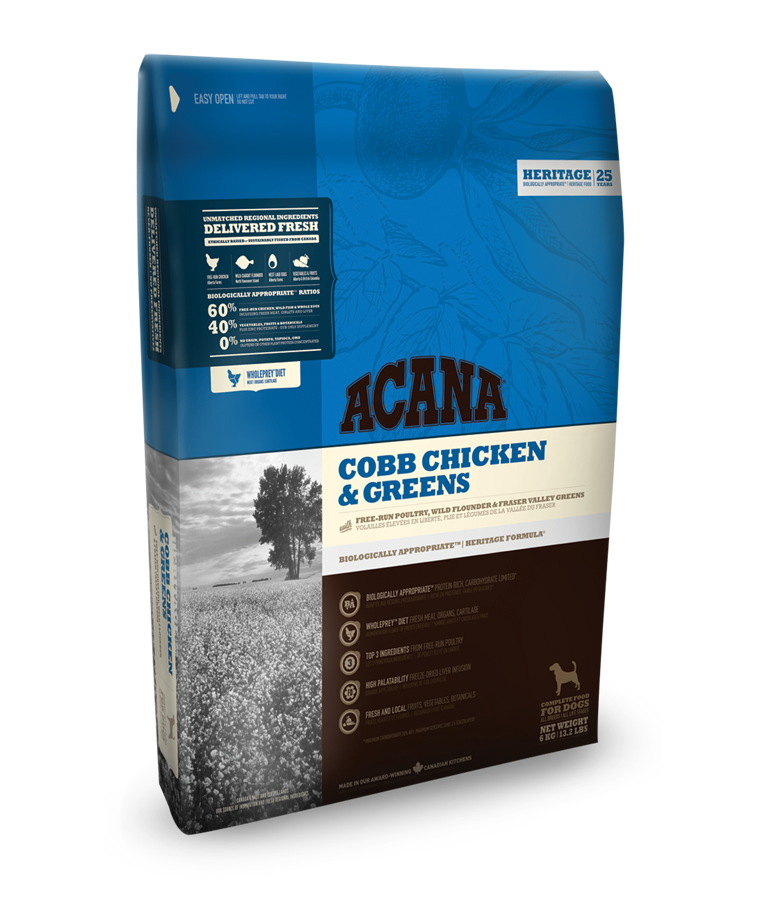 Acana Dog Cobb Chicken & Greens Heritage 17 kg