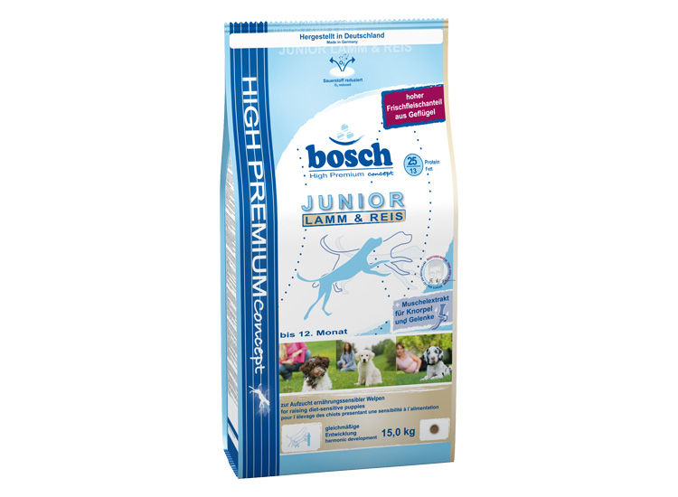 Fotografie Bosch Junior Lamb & Rice 3 kg