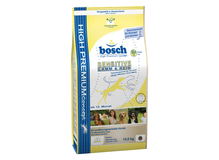 Bosch Sensitive Lamb & Rice 15 kg