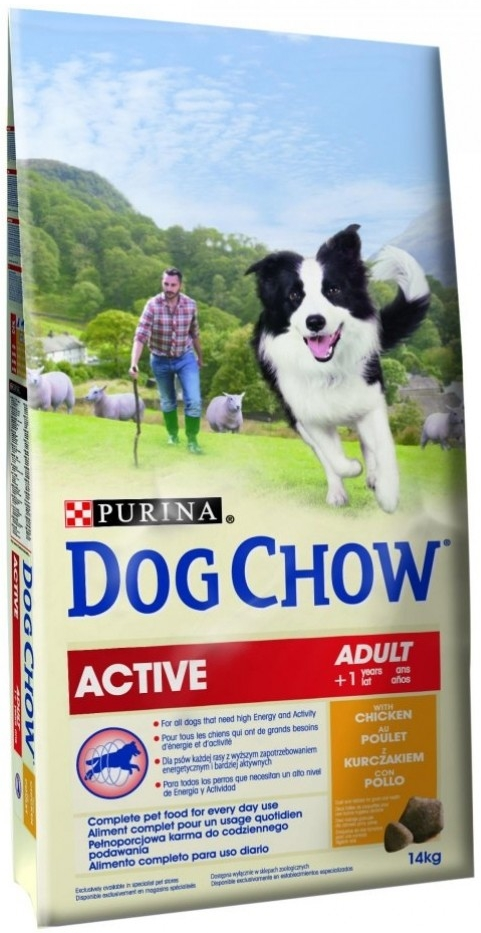 Purina Dog Chow Adult Active 14 kg