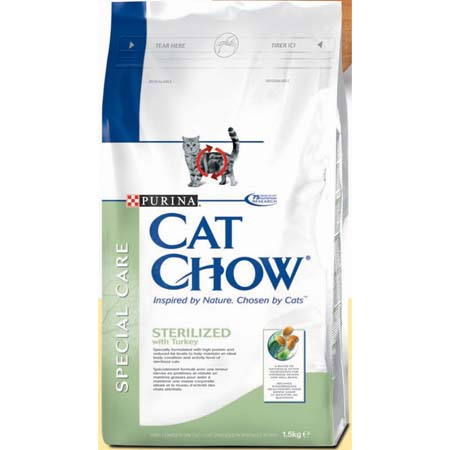 Fotografie Purina Cat Chow Special Care Sterilised 15 kg