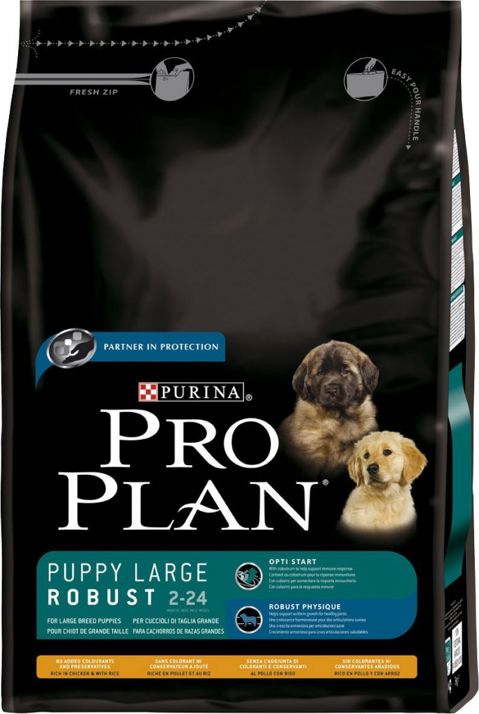 Purina Pro Plan dog Puppy Large Breed Robust 3 kg
