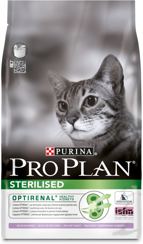 Fotografie Purina Pro Plan cat Sterilised Turkey 10 kg