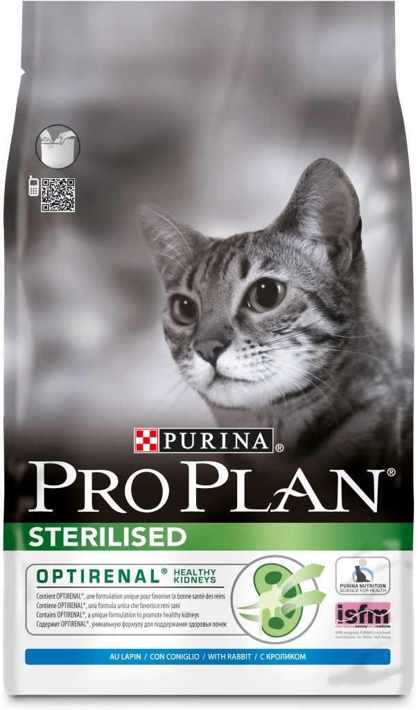 Fotografie Purina Pro Plan cat Sterilised Rabbit 400 g
