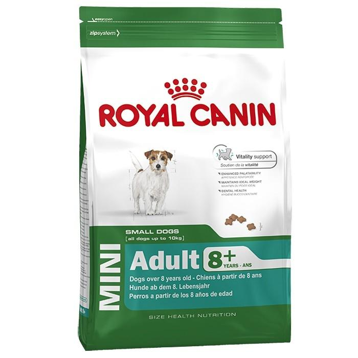 Royal Canin Mini Adult 8+ (senior) 2 kg