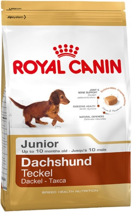 Fotografie Royal Canin Breed Jezevčík Junior 1,5kg