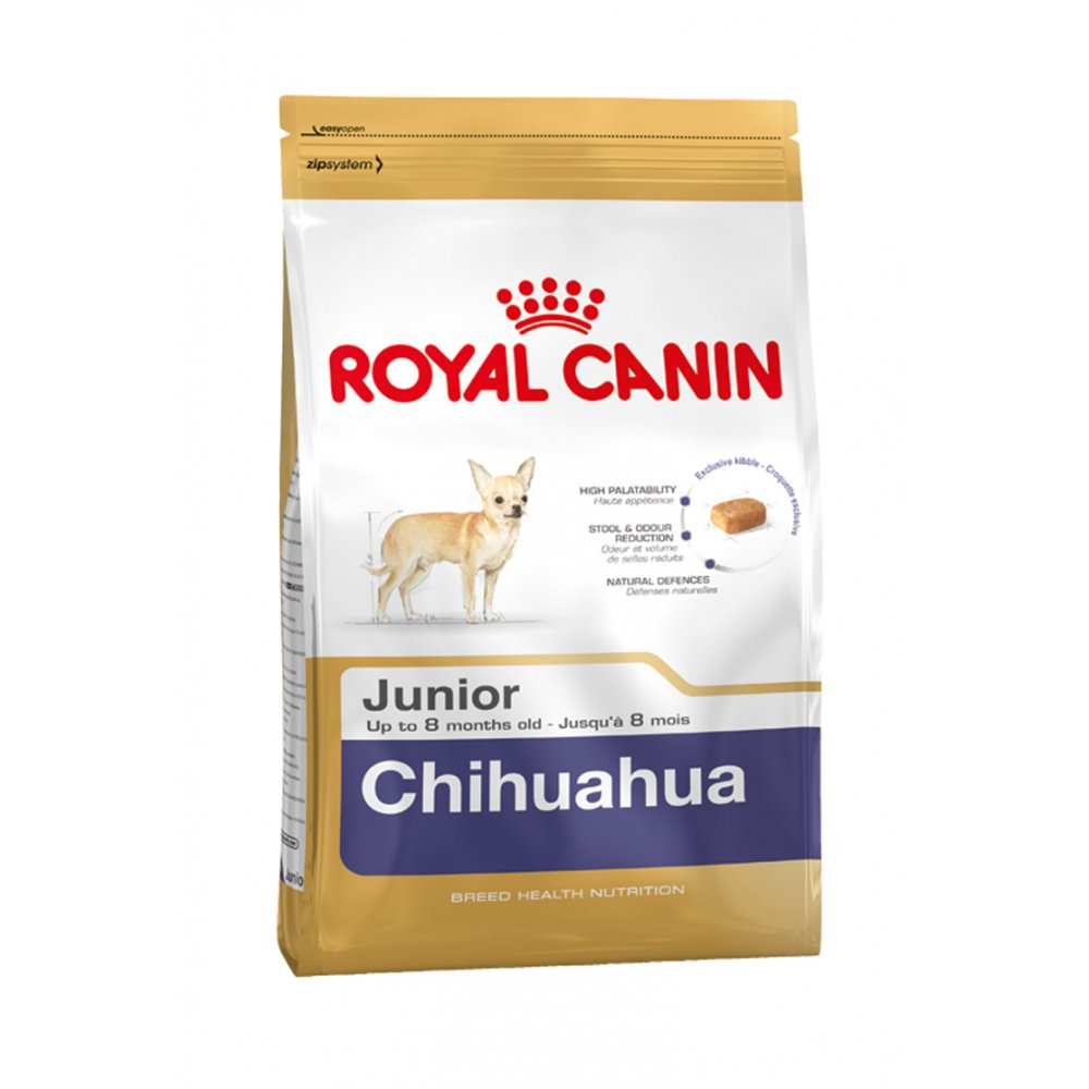 Fotografie Royal Canin Breed Čivava Junior 1,5kg