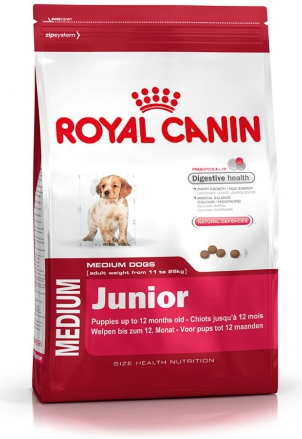 Fotografie Royal Canin Medium Junior 15 kg