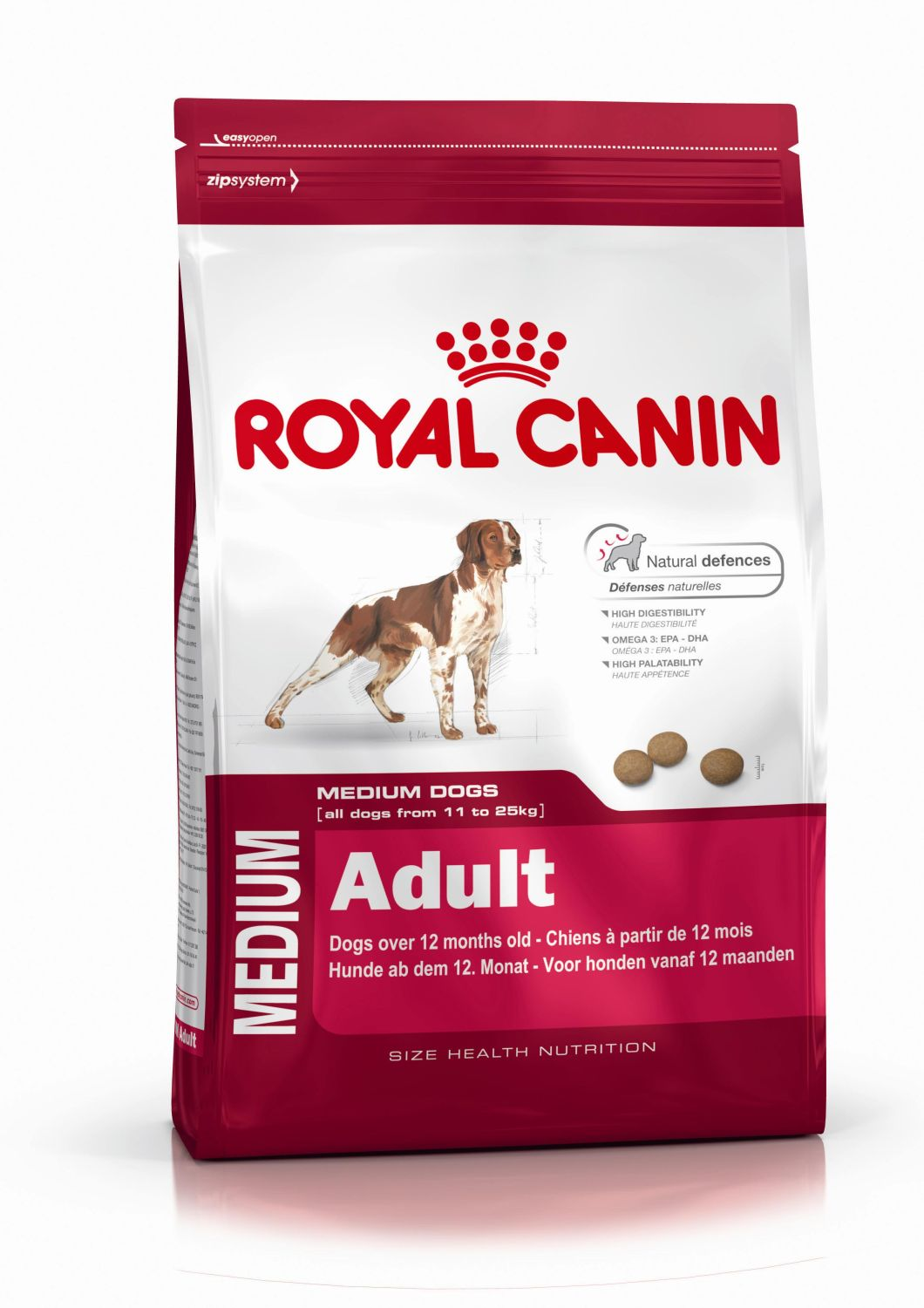 Fotografie Royal Canin Medium Adult 4 kg