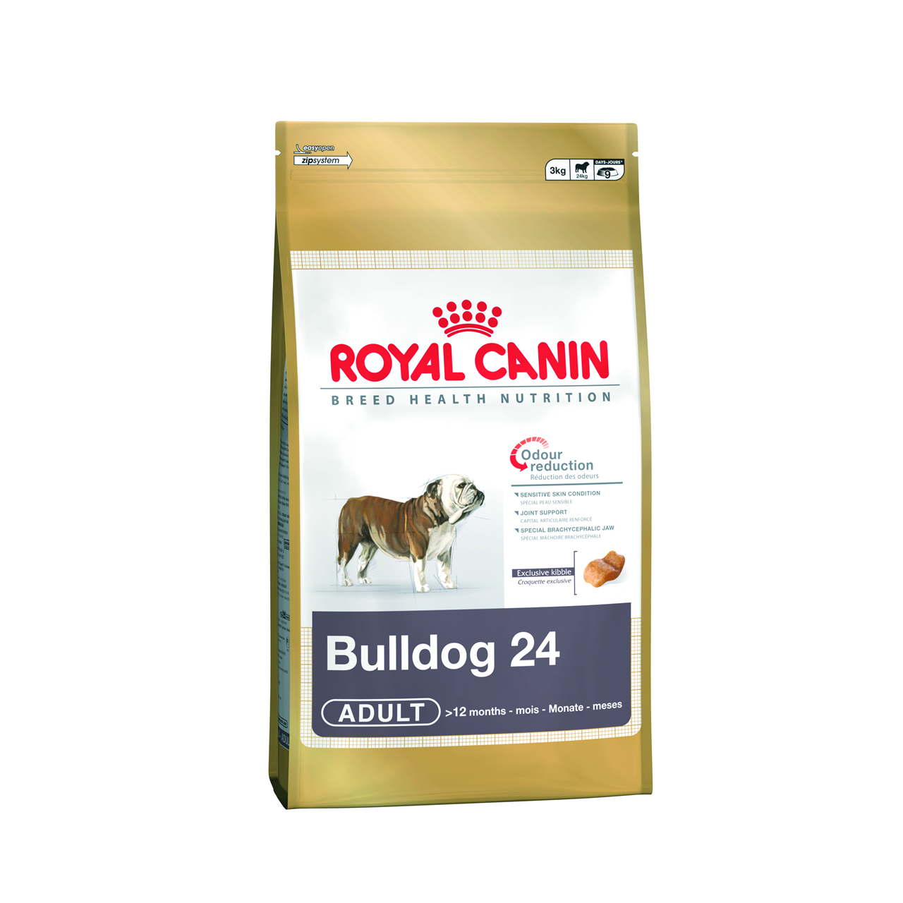Fotografie Royal Canin pes Bulldog Adult 3 kg