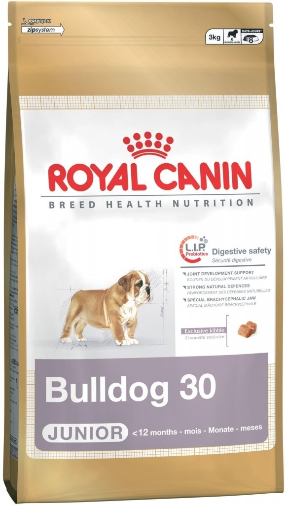 Royal Canin pes Bulldog Junior 3 kg