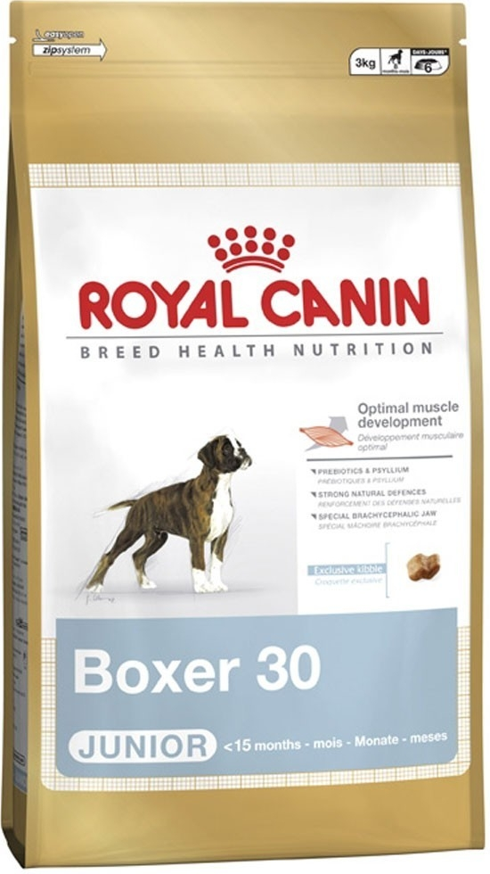Fotografie Royal Canin pes Boxer Junior 3 kg