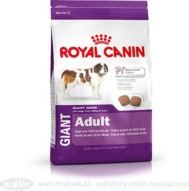 Royal Canin pes Giant Adult 15 kg