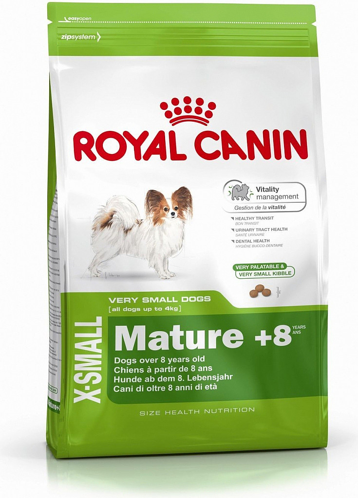 Royal Canin pes X-Small Mature 8+ 1,5 kg