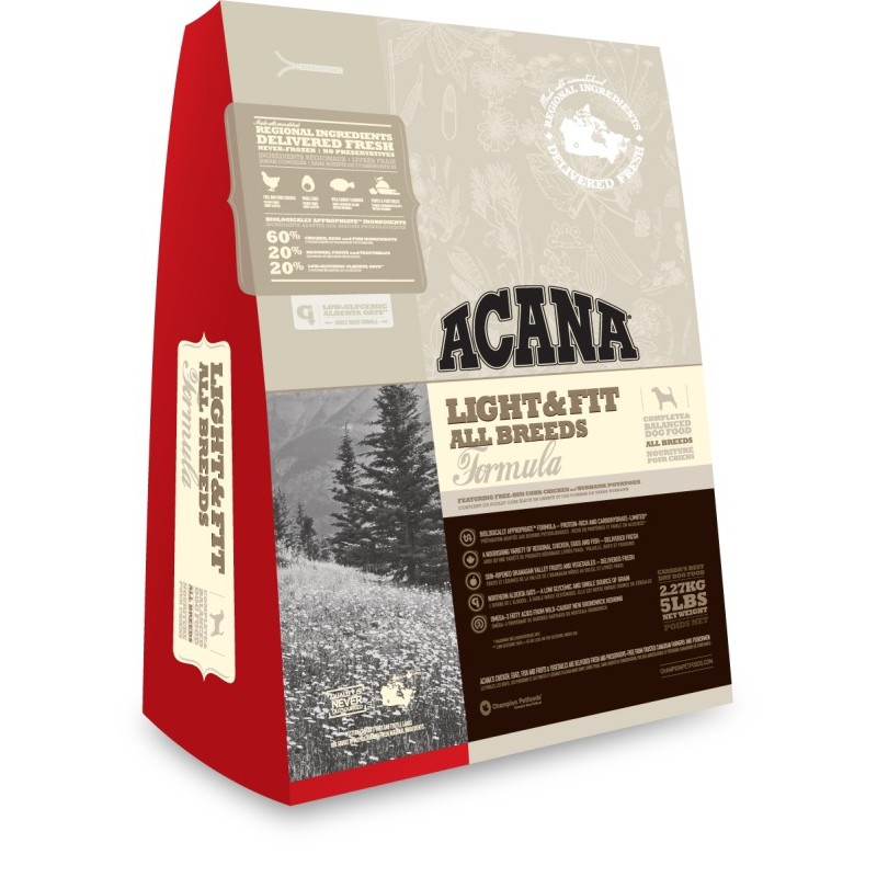 Acana Heritage Light & Fit 2,27 kg