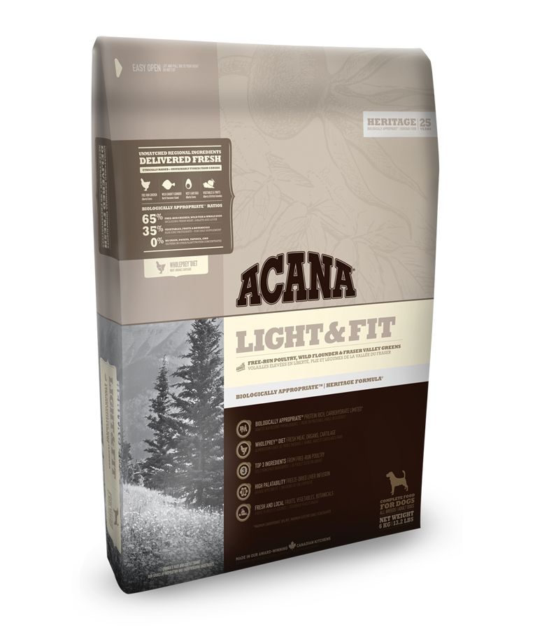 Acana Heritage Light and Fit 11,4 kg