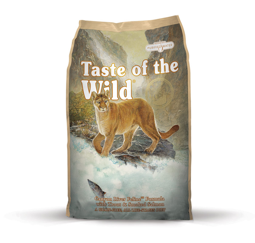 Taste of the Wild cat Canyon River Feline 7 kg