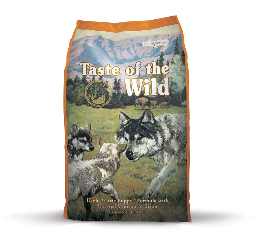 Fotografie Taste of the Wild High Prairie Puppy 2 kg