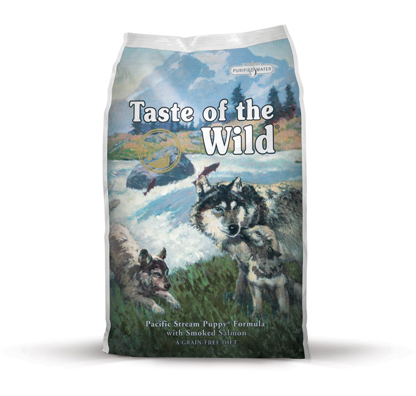 Fotografie Taste of the Wild Pacific Stream Puppy 2 kg