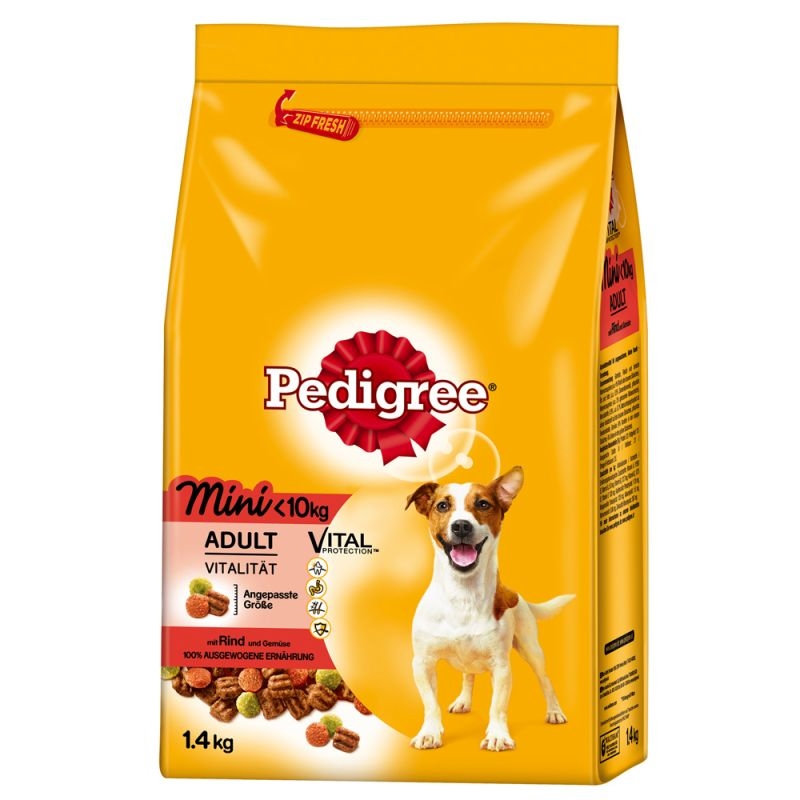 Pedigree Adult Mini Hovězí 12 kg