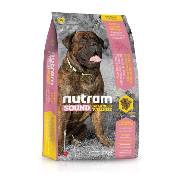 Nutram Sound Adult Dog Large Breed 13,6 kg