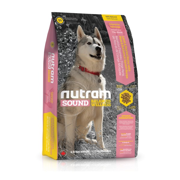 Nutram Sound Adult Dog Lamb 13,6 kg