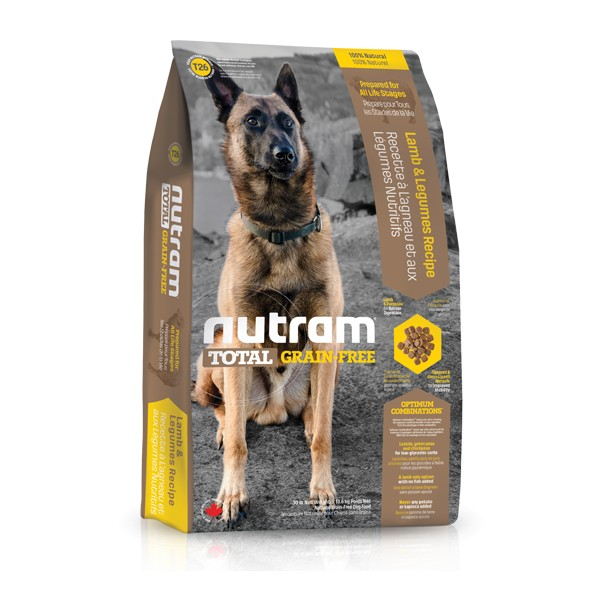 Nutram Total Grain Free Lamb & Legumes Dog 11,34 kg