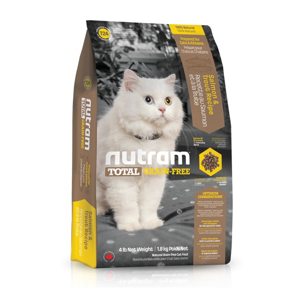 Nutram Total Grain Free Salmon Trout Cat 1,8 kg, nutram