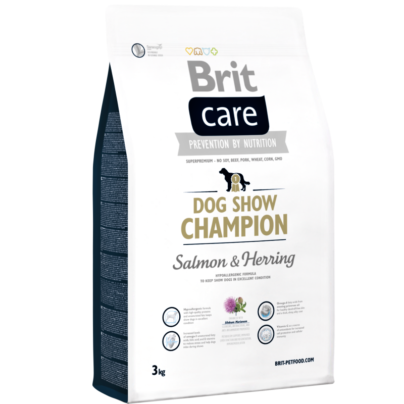 Brit Care Dog Show Champion 3 kg
