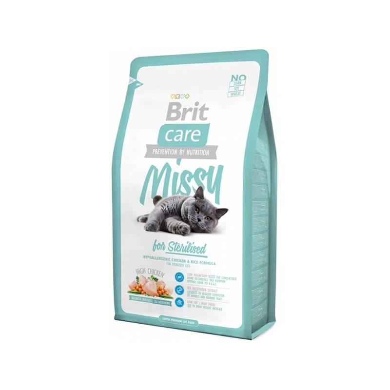 Brit Care Cat Míssy for Sterilised 2 kg