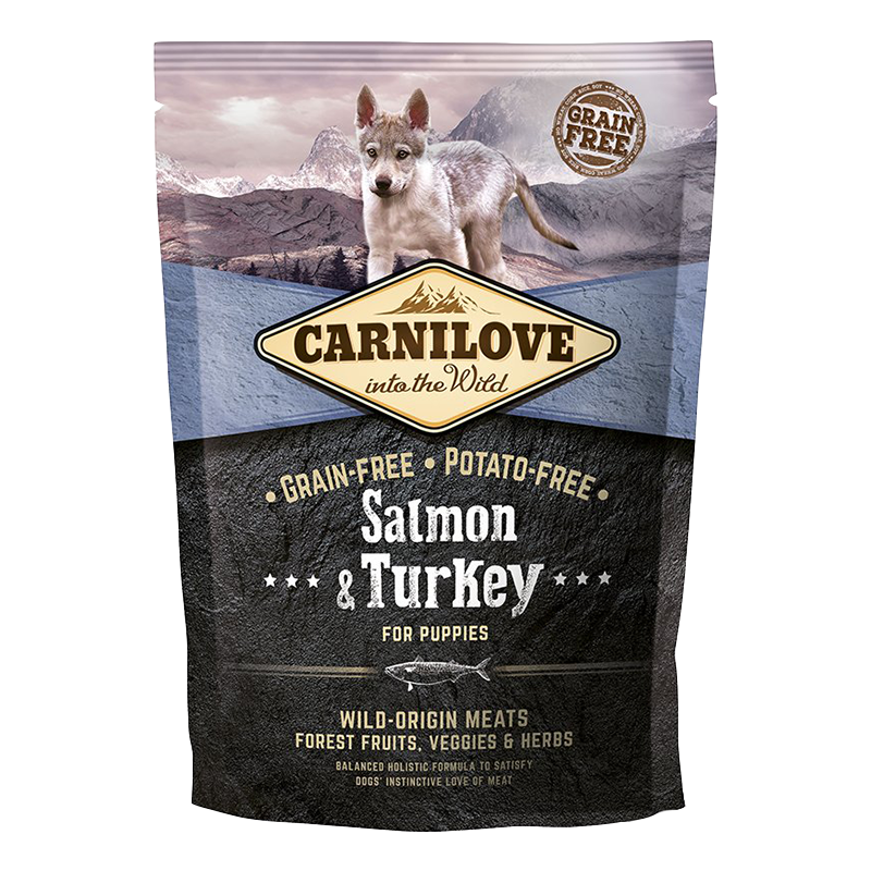 Carnilove Dog Salmon & Turkey for Puppy 1,5 kg