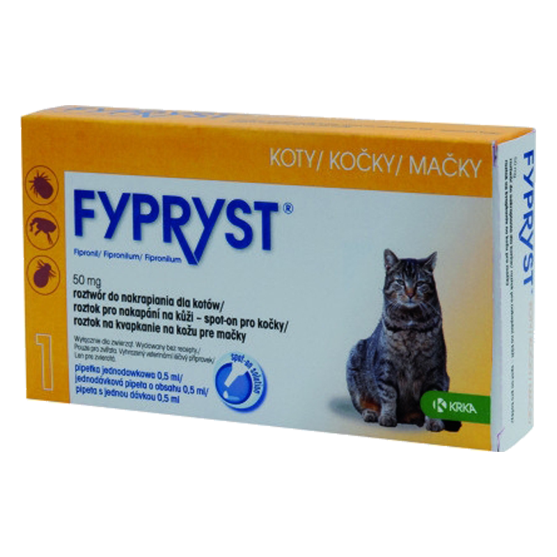 Krka Fypryst Spot-On Cat 0,5 ml