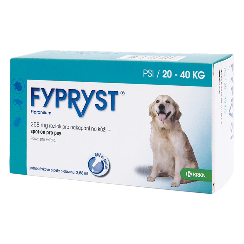 Fypryst Spot-On Dog L 1x2,68ml (20-40 kg)