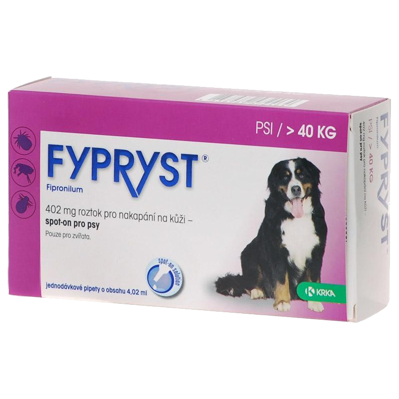 Krka Fypryst Spot-On Dog XL/1x4,02ml (nad 40 kg)