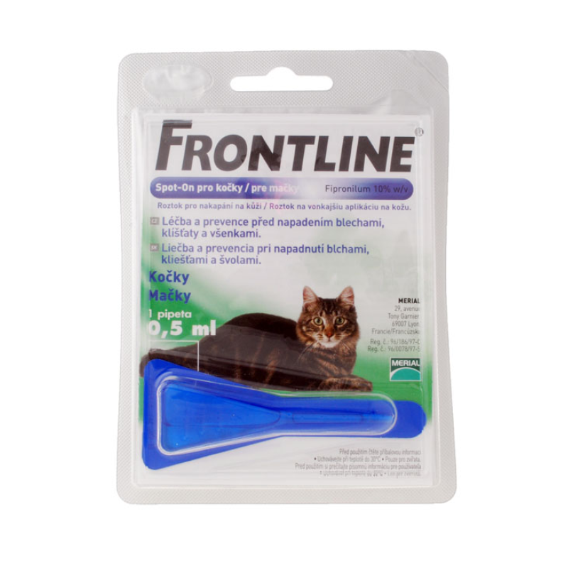 Fotografie Frontline Spot On Cat 1x1 pipeta 0.5 ml