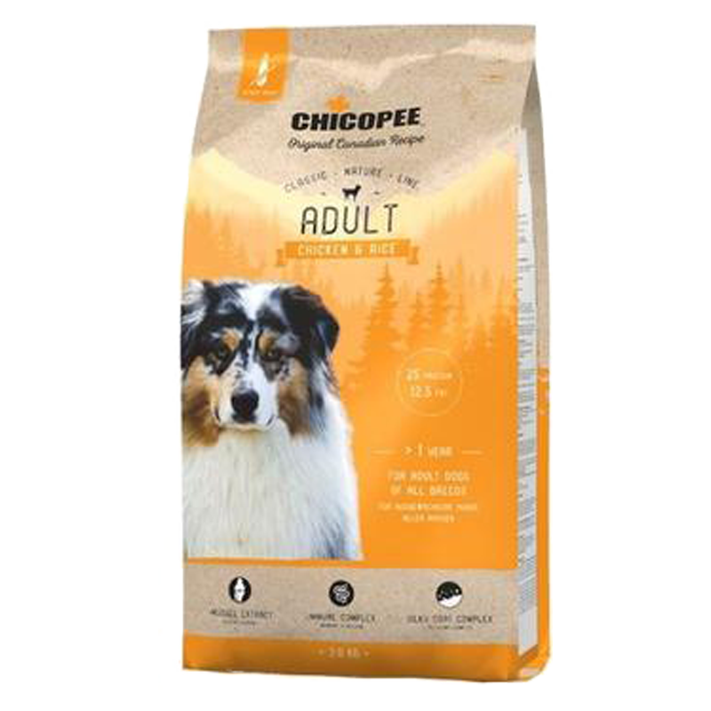 Chicopee Classic Nature Adult Chicken-Rice 15 kg