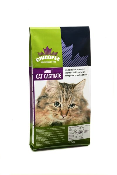 Fotografie Chicopee Adult Cat Castrate 15 kg