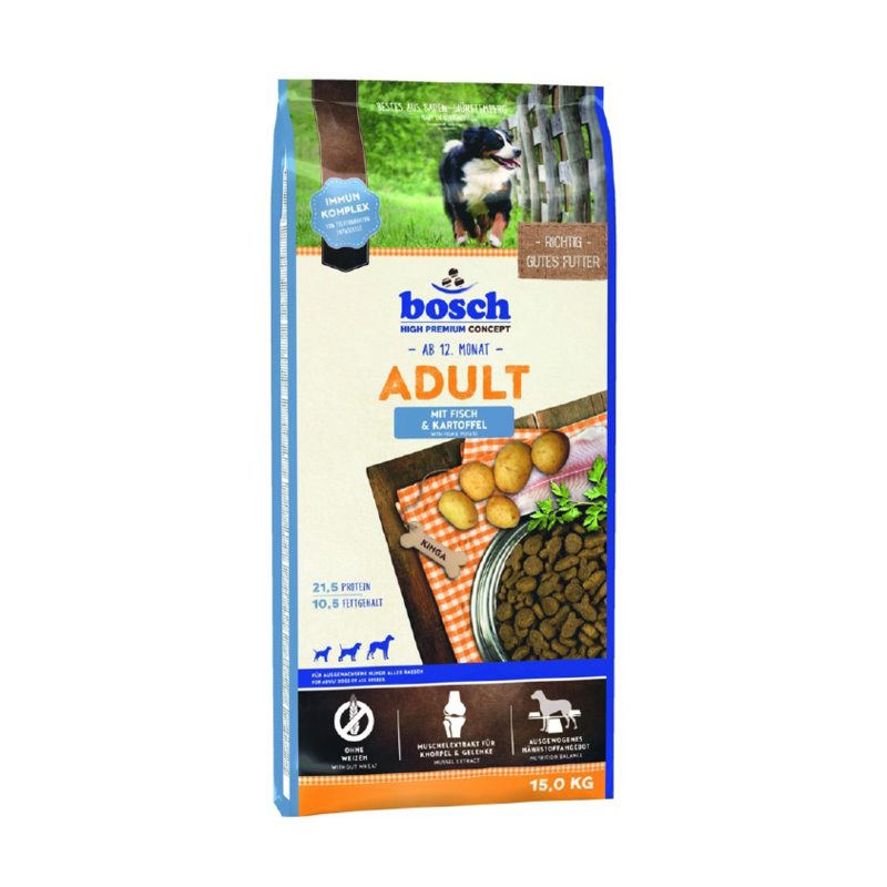 Fotografie Bosch Adult Fish and Potato 3 kg