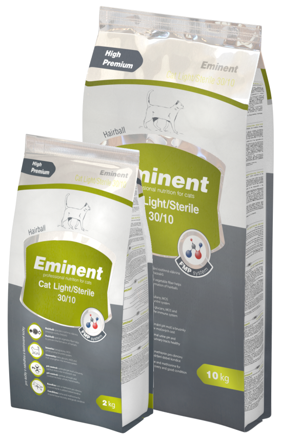 Eminent cat Light/Sterile 2 kg