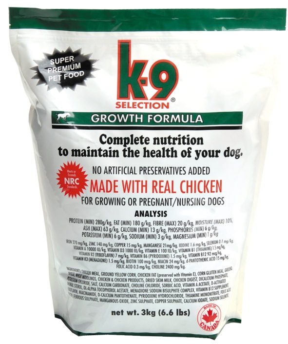 K-9 Growth 3 kg