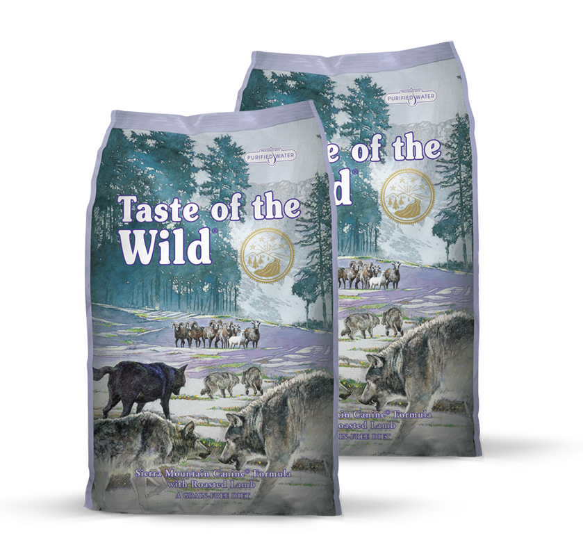 Taste of the Wild Sierra Mountain Canine 2 x 12,2 kg