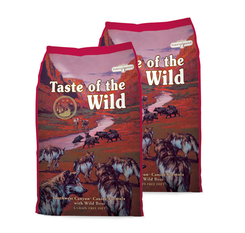 Taste of the Wild Southwest Canyon Canine 2 x 12,2 kg