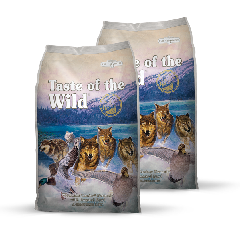 Taste of the Wild Wetlands Wild Fowl 2 x 13 kg