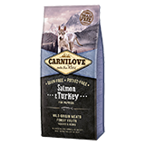 Carnilove Dog Salmon & Turkey for Puppy 12 kg
