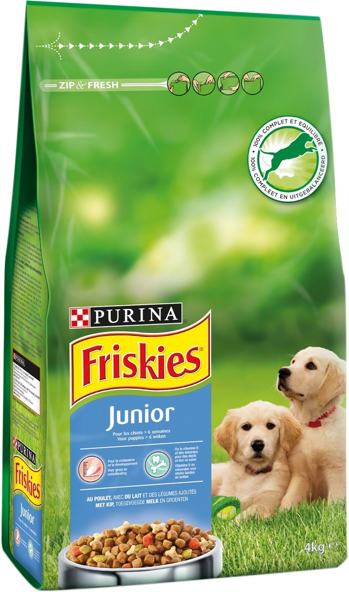 Purina Friskies Junior 15 + 3 kg Zdarma