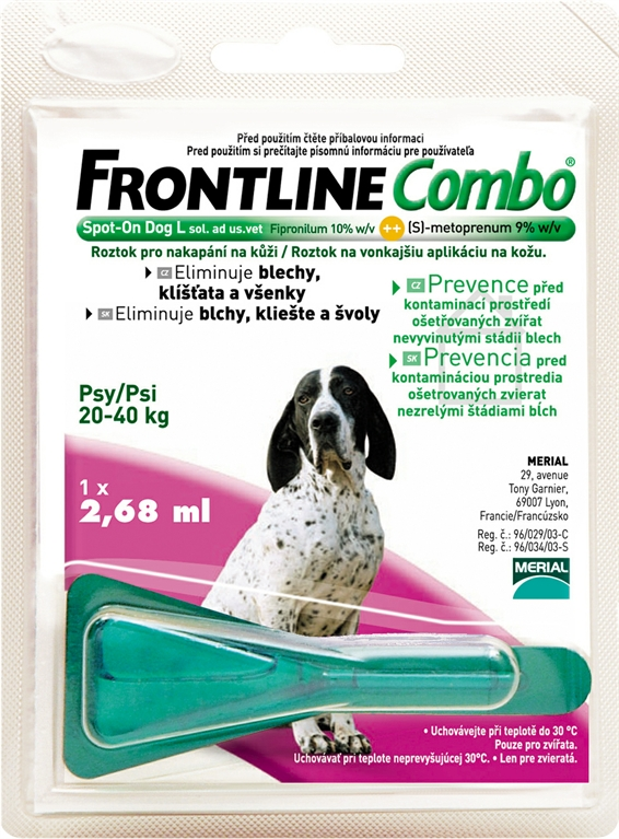 Merial Frontline Combo Spot-On Dog L sol.1x2.68ml