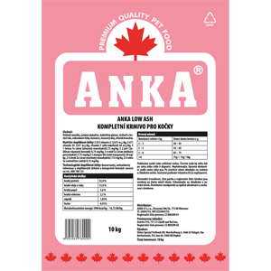 Anka Cat Low Ash 20 kg
