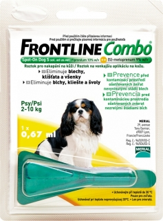 Merial Frontline Combo Spot-On Dog S sol.1x0.67ml